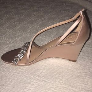 Badgley Mischka Shoes - Badgley Mischka Bridal Shoes size 7.5